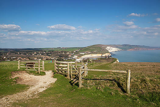 Freshwater Bay Isle Of Wight by English Landscapes