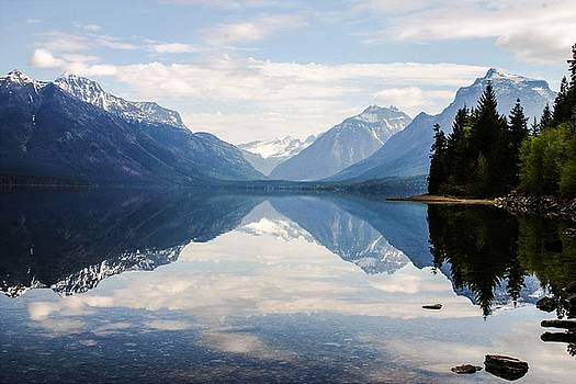Glacier Reflections by Nelson and Cheryl Strong