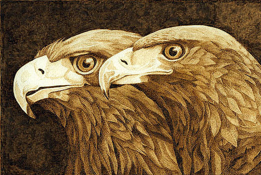 Golden Eagles by Cate McCauley
