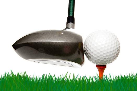 Golfing by Rob Byron