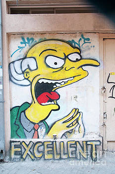 Graffiti wall art Tel Aviv  by Humorous Quotes