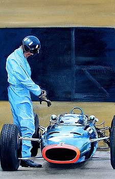 Graham Hill by Steve Jones