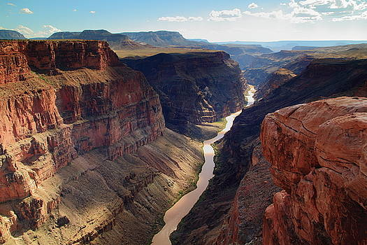 Grand Canyon and Colorado River by Roupen  Baker