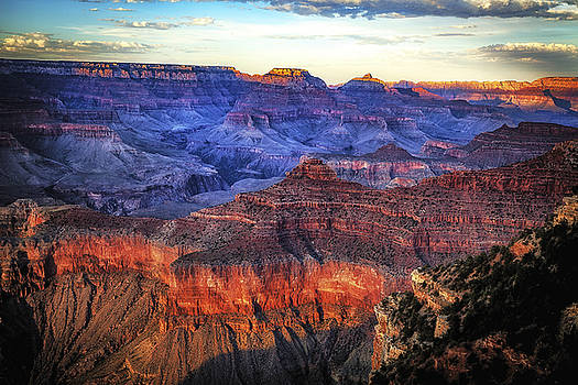 Grand Canyon Sunset by James Bethanis