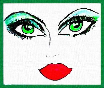 Green Eyes by Karen Conine