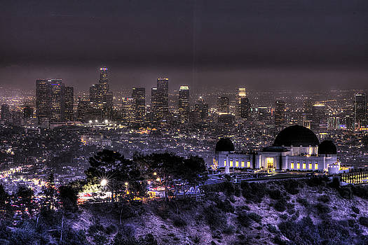 Griffith Park Observatory by Zoe Schumacher