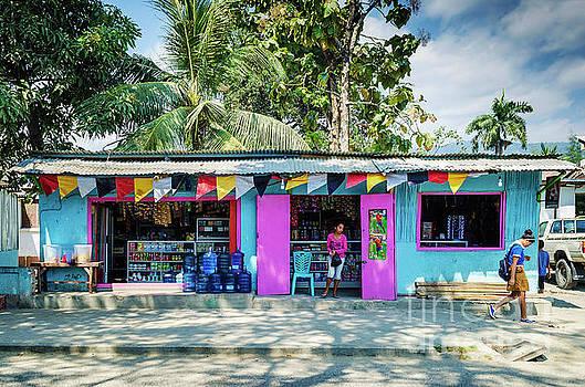 Grocery Shop In Central Dili Street In East Timor by Jacek Malipan