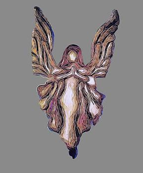 Guardian Angel by Art OLena