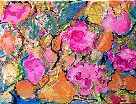 Gypsy garden  by Judith Desrosiers