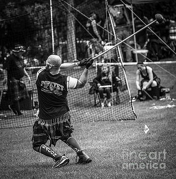 Hammer Throw 2 - Scottish Festival and Highland Games by Gary Whitton