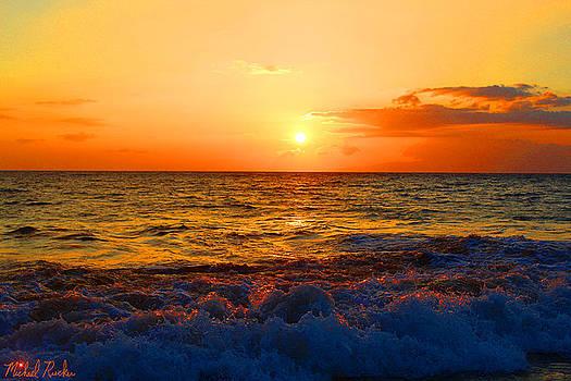 Hawaiian Sunset by Michael Rucker