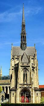 Heinz Chapel Vertical Panoramic by Thomas R Fletcher