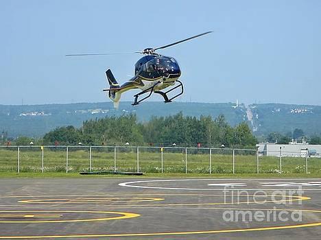 John Malone - Helicopter Landing