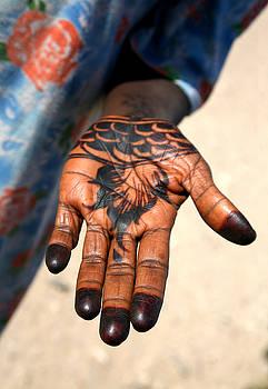 Henna Hand by Marcus Best