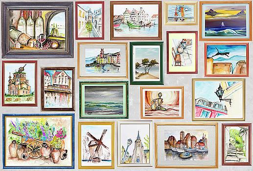 History of my travel concept by Aleksandr Volkov