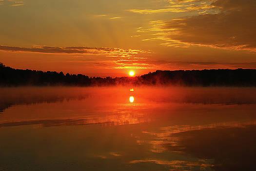 Hocking Hills Morning Glory by David Yunker