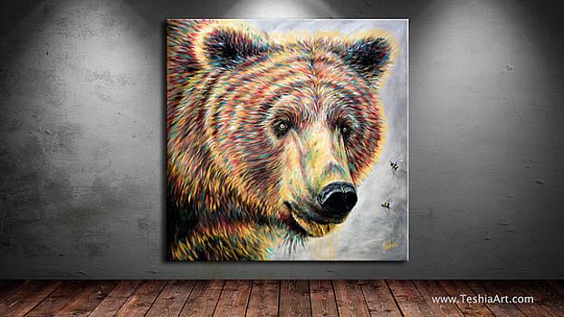 Teshia Art - Honey Bear