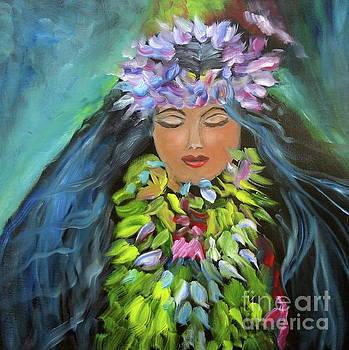 Hula Maiden by Jenny Lee