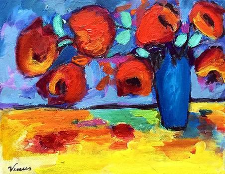 Impressionist Flowers by Venus