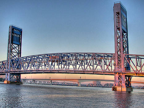 Jacksonville's Blue Bridge by Farol Tomson