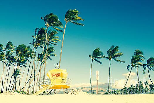 Kapukaulua Beach Maui North Shore Hawaii by Sharon Mau