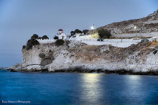 Isaac Silman - karpathos island cemetery Greece