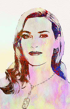Kate Winslet by Elena Kosvincheva
