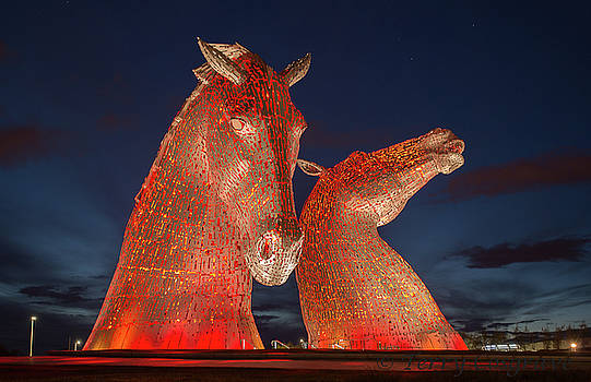 Kelpies by Terry Cosgrave