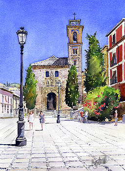 La Iglesia de Santa Ana Granada by Margaret Merry