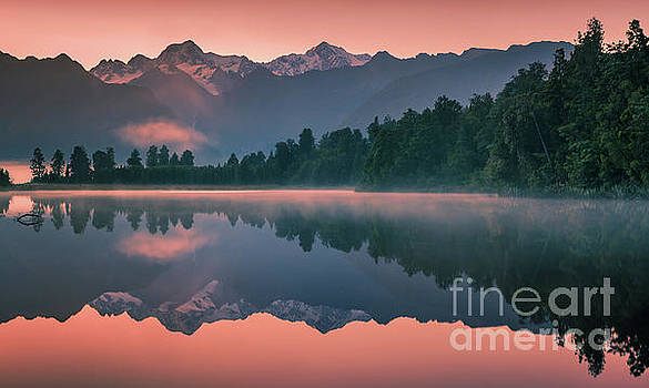 Lake Matheson by Henk Meijer Photography