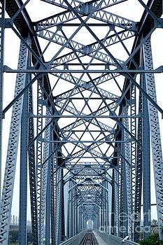 Large Old Railway Bridge by Yali Shi