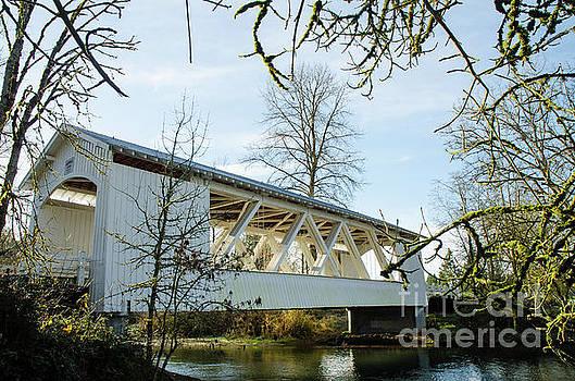 Larwood Covered Bridge by Nick Boren