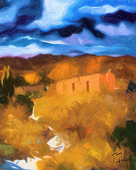 Late October at the Pueblo by Terry Fiala