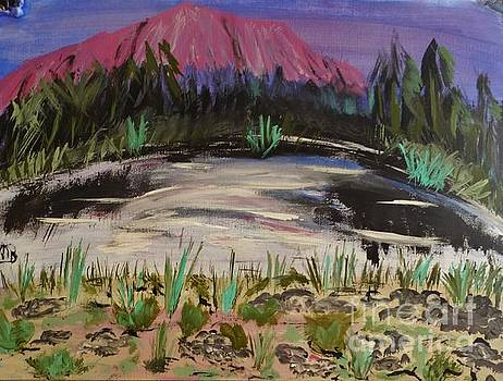 Lavender Mountain by Marie Bulger