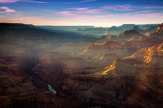 Light in the Canyon by Andrew Soundarajan
