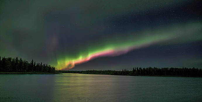 Lights At The Lake by Ronald Lafleur