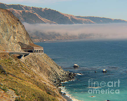 Limekiln Tunnel Hwy 1 by Michael Lovell