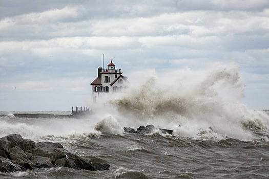 Jack R Perry - Lorain Ligthouse
