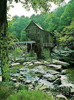 Mabry Grist Mill  by Ruth Housley