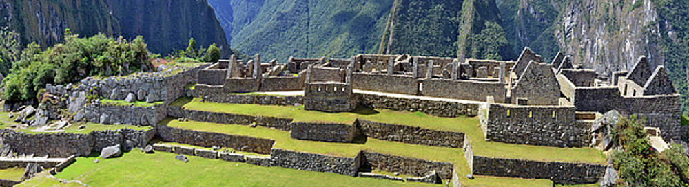 Machu Picchu - is a sacred town of  Inca empire by Aleksandr Volkov