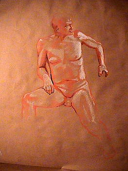 Male Figure Study by Kerry Burch