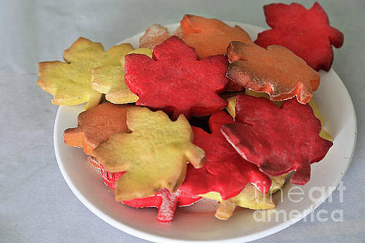 Sweet Maple Cookie Leaves  by Tracy Hall