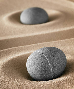 Meditation Stones by Dirk Ercken