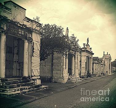 Metairie Cemetery by Janice Spivey