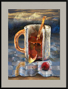 Metaphysical still life by Zia Art