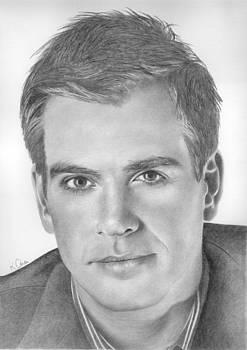 Michael Weatherly by Karen  Townsend