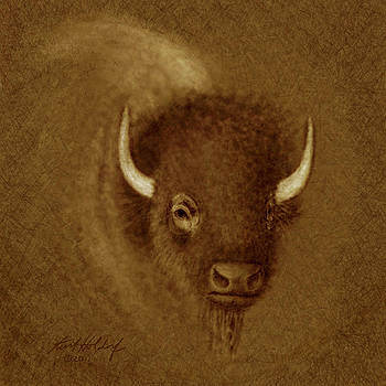Mighty Buffalo by Kurt Holdorf