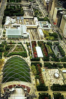 Millennium Park In Chicago by Andrew Soundarajan