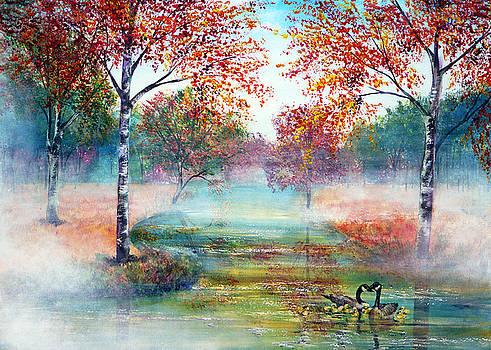 Misty Morning by Ann Marie Bone