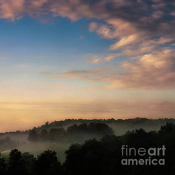 Misty Mountain Dawn by Thomas R Fletcher